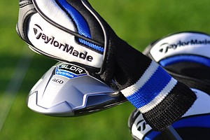 The bag of Taylormade's Brian Bazzell features the new SLDR driver, which he put into use playing alongside Mark King at the 2013 Industry Cup.