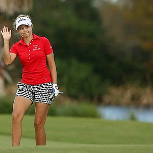 Kathleen Ekey earned her card at LPGA Qschool final at LPGA International.