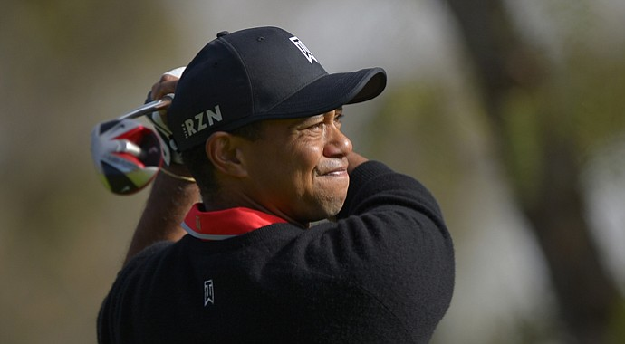 Tiger Woods during the final round of the 2013 Northwestern Mutual World Challenge.