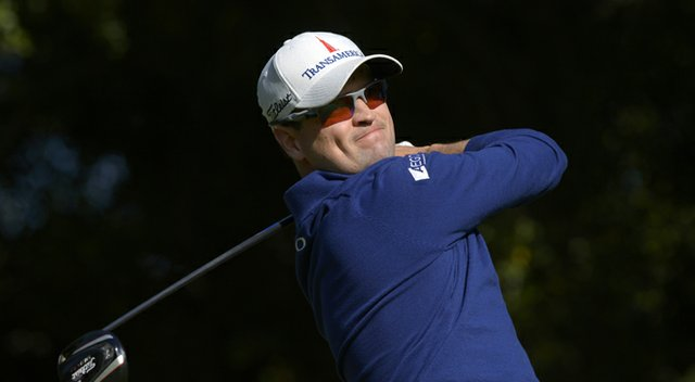 Zach Johnson during the final round of his win at Tiger Woods' 2013 Northwestern Mutual World Challenge.