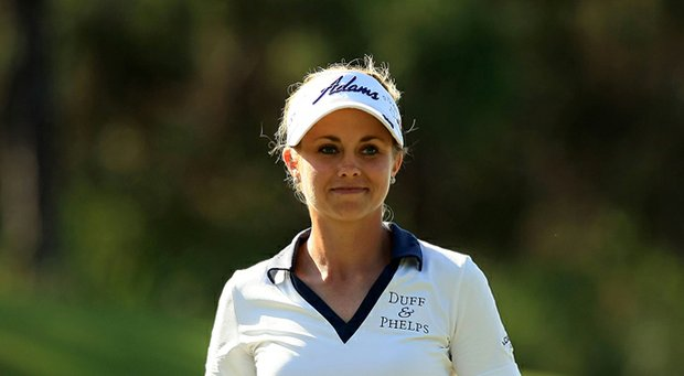Kathleen Ekey during 2013 LPGA Q-School in Daytona Beach, Fla.