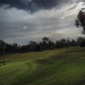The 14th hole at Oak Creek GC during the 2013 Industry Cup in Irvine, Calif.