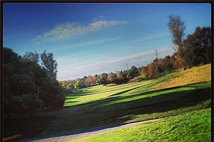 The fifth hole at Oak Creek GC in Irvine, Calif.