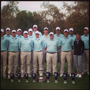 The winning teams from the 2013 Industry Cup at Oak Creek GC in Irvine, Calif.