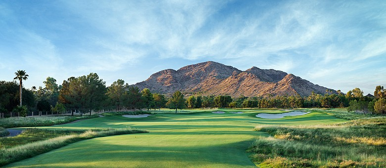Ambiente's 13th hole at Camelback Golf Club in Scottsdale, Ariz.