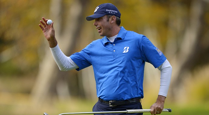 Matt Kuchar during the 2013 Northwestern Mutual World Challenge.