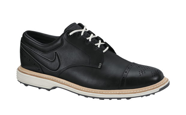 The Nike Lunar Clayton shown in black. Both white and black colors are available Jan. 1, 2014.