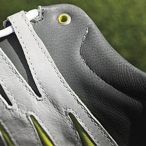 The top of the Nike Lunar Clayton golf shoe.