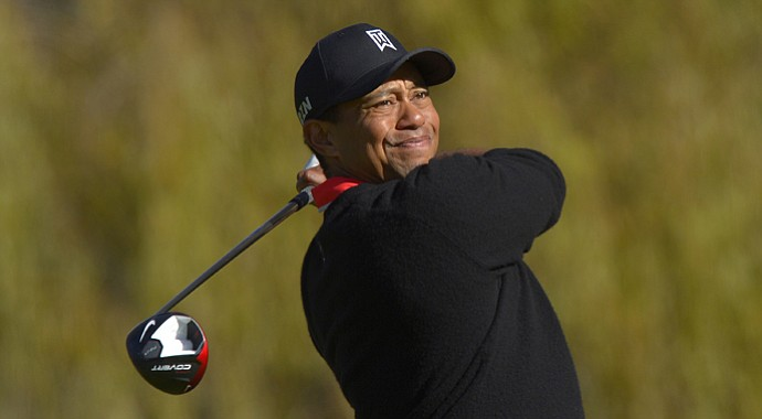 Tiger Woods used a new Nike driver during the 2013 Northwestern Mutual World Challenge.