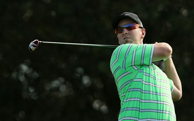 David Duval during Wednesday's practice round at the PNC Father/Son Challenge at The Ritz Carlton Golf Club of Orlando.