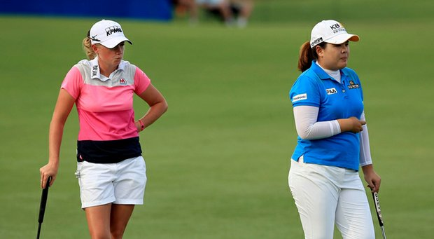Stacy Lewis and Inbee Park are poised for big 2014 seasons on the LPGA Tour. What else can we expect? Beth Ann Baldry and Julie Williams discuss.