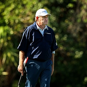 Nick Price during the PNC Father/Son Challenge Pro-Am at The Ritz Carlton Golf Club of Orlando.