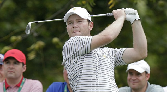 Branden Grace during the 2013 Presidents Cup.