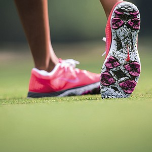 The Nike Lunar Empress golf shoe is available January 1, 2014.