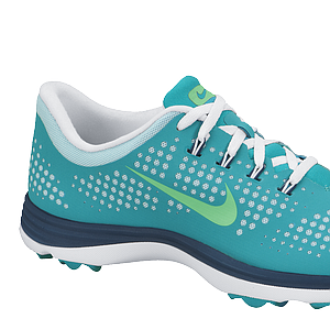 The Nike Lunar Empress in Turbo Green/Lt. Lucid Green.