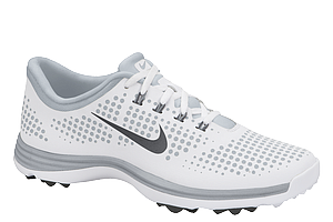 The Nike Lunar Empress in White/Dark Grey.