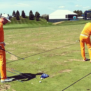 Jonas Blixt and Rickie Fowler