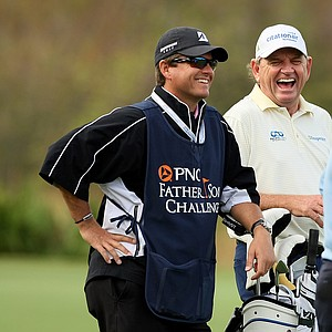Nick Price on Sunday at the PNC Father/Son Challenge at The Ritz Carlton Golf Club of Orlando.