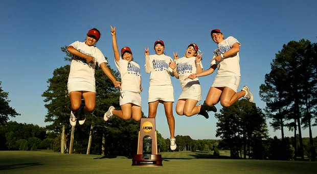 USC's dominance in women's college golf is one of many highlights from the 2013 women's college golf season.