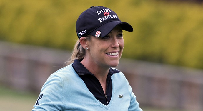 Cristie Kerr during her win at the 2013 Kingsmill Classic.