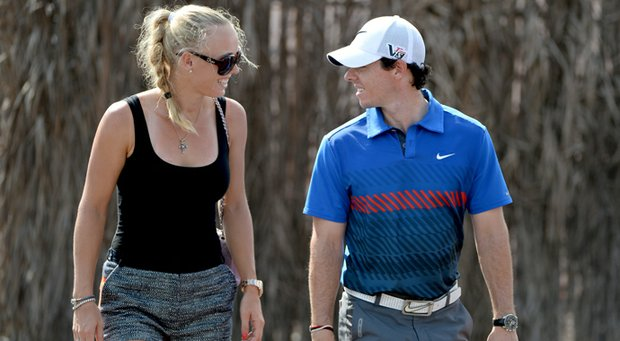 Prior to their engagement announcement on Twitter, the last public appearance for Caroline Wozniacki and Rory McIlroy was at the latter's participation in the DP World Championship in November.