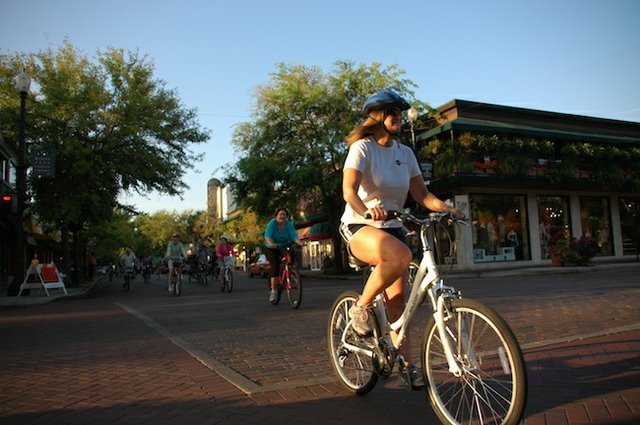 Winter Park is pushing for more cyclists, walkers and bus riders with a new program.