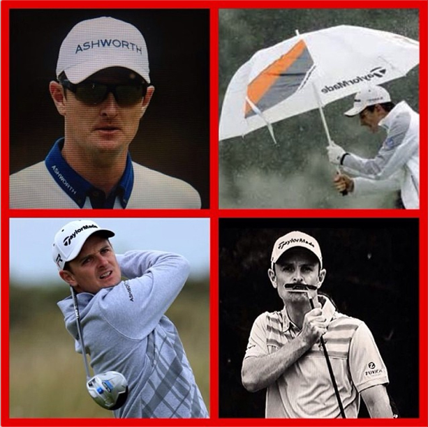 Justin Rose announced on Twitter that he had re-signed with TaylorMade and Ashworth Golf for five years.