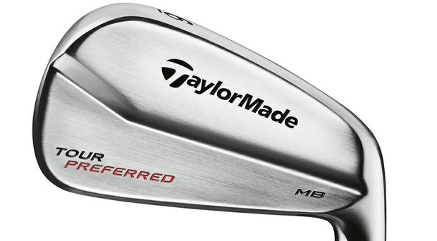 TaylorMade Tour Preferred MB iron.