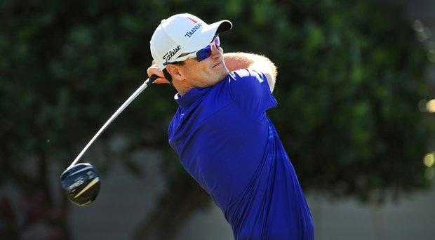 Zach Johnson during the final round of the Hyundai Tournament of Champions.