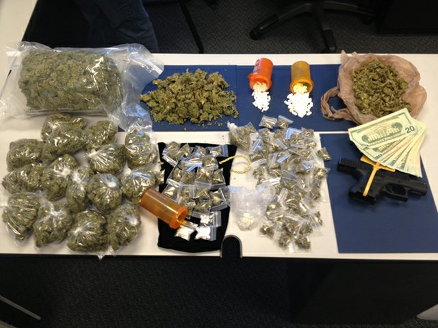 Winter Park Police worked with multiple agencies to make arrests and confiscations on the city's west side.