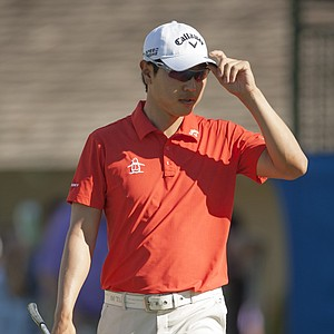 Sang-Moon Bae during the first round of the PGA Tour's 2014 Sony Open in Honolulu.