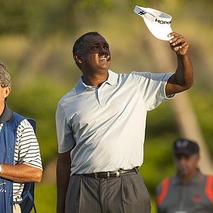 Vijay Singh during the first round of the PGA Tour's 2014 Sony Open in Honolulu.