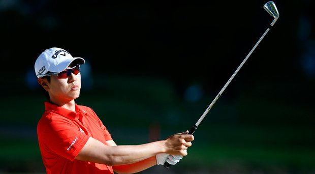 Sang-Moon Bae during the first round of the 2014 Sony Open on PGA Tour.