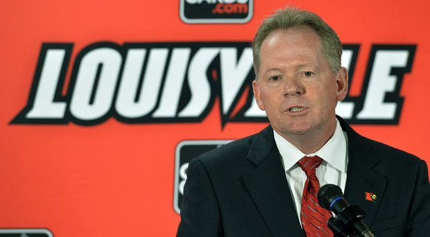 Bobby Petrino, named head coach of Louisville's football team last week, will join his daughter, Katie, on campus, as she is a redshirt junior on the women's golf team.