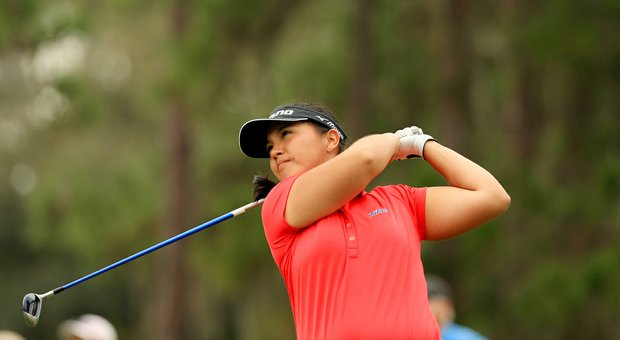Kristina Merkle during the 59th Harder Hall Women's Invitational at Harder Hall Country Club.