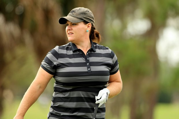 Tara Joy-Connelly at the 59th Harder Hall Women's Invitational at Harder Hall Country Club.