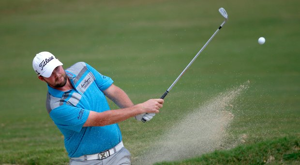 Marc Leishman during the second round of the Sony Open.