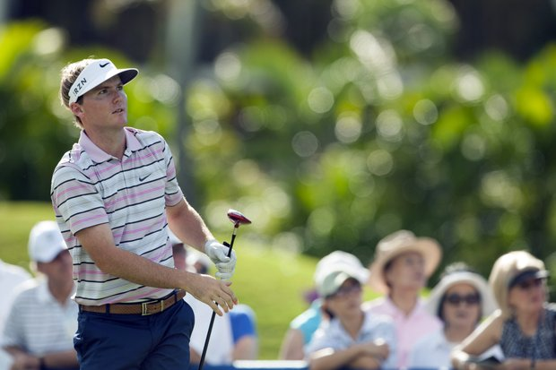 Russell Henley during the second round of the Sony Open.