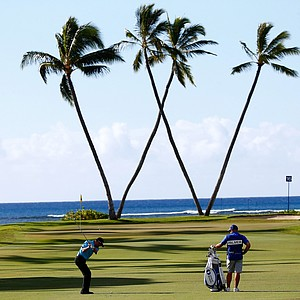 Ryan Palmer during the second round of the Sony Open.