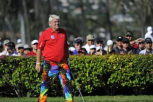 John Daly during the third round of the Sony Open.