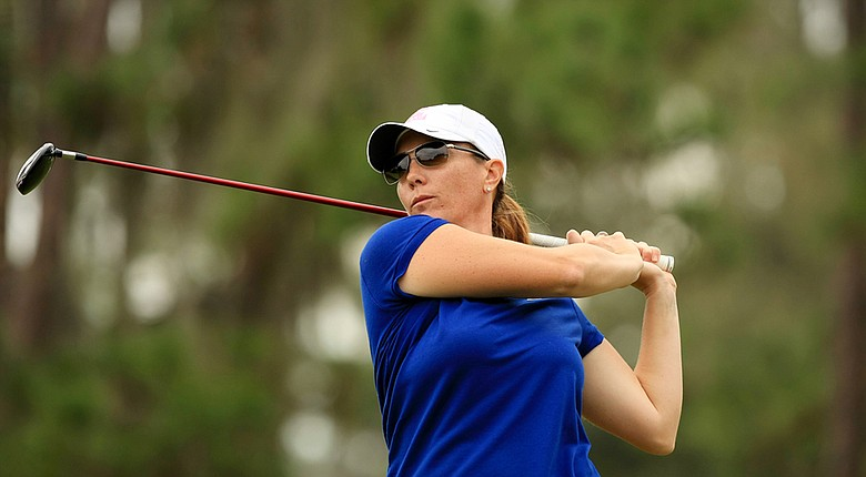 Meghan Stasi became the first mid-amateur to win the Harder Hall Women's Invitational since 1997.