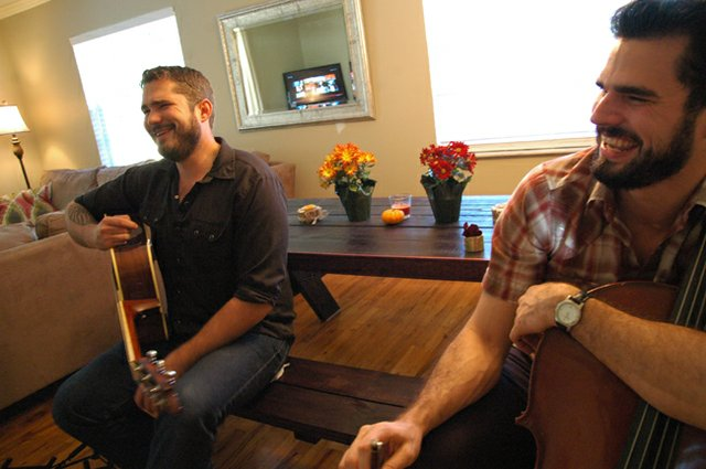 The Holcomb brothers used music to bring them together, and now they play gigs as a duo all around Central Florida.