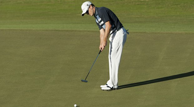 Zach Johnson said that he needed to be more 'athletic' while putting during his win at the PGA Tour's 2014 Hyundai Tournament of Champions.