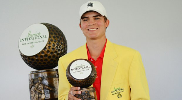Carson Young was the 2013 Junior Invitational winner and went on to play college golf at Clemson.