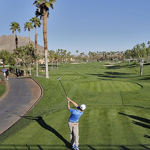 Charlie Wi during the first round of the PGA Tour's 2014 Humana Challenge in La Quinta, Calif.