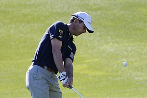 Mike Weir during the first round of the PGA Tour's 2014 Humana Challenge in La Quinta, Calif.