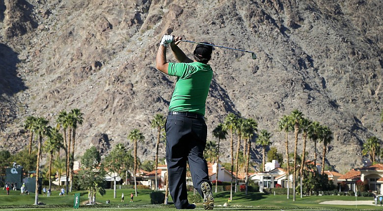 Patrick Reed during the first round of the PGA Tour's 2014 Humana Challenge in La Quinta, Calif.