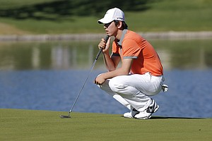 Seung Yul Noh during the first round of the PGA Tour's 2014 Humana Challenge in La Quinta, Calif.