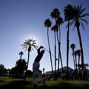 Zach Johnson during the first round of the PGA Tour's 2014 Humana Challenge in La Quinta, Calif.