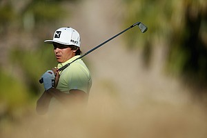 Rickie Fowler during the second round of the Humana Challenge.